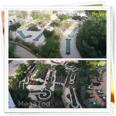 Mini golf resort en Marriott´s Estepona