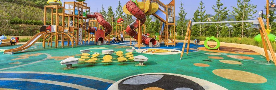 La seguridad en los parques: materiales del suelo